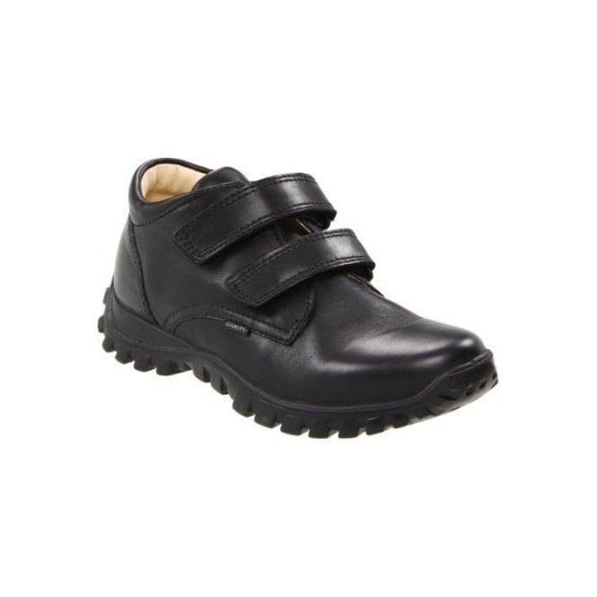 Primigi Bailey Black Leather Boys Shoe