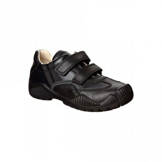 Primigi Serse Black Leather Boys Shoe