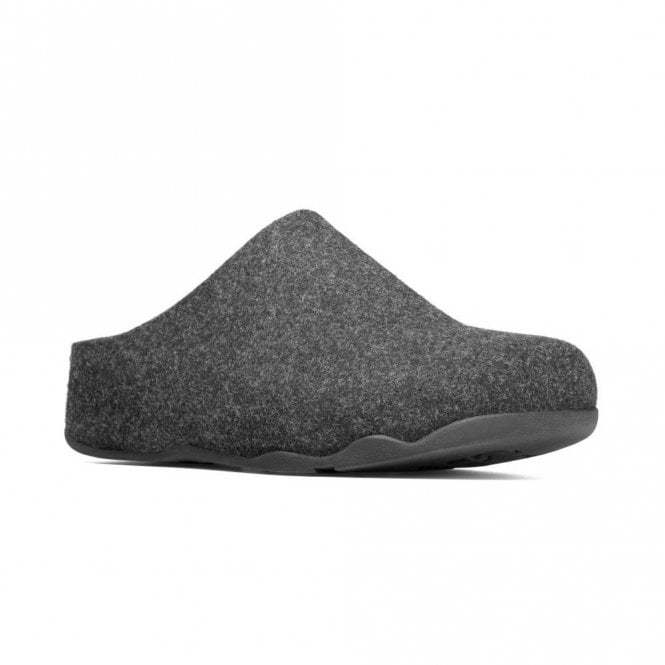 FitFlop Shuv Anthracite Fabric Slipper