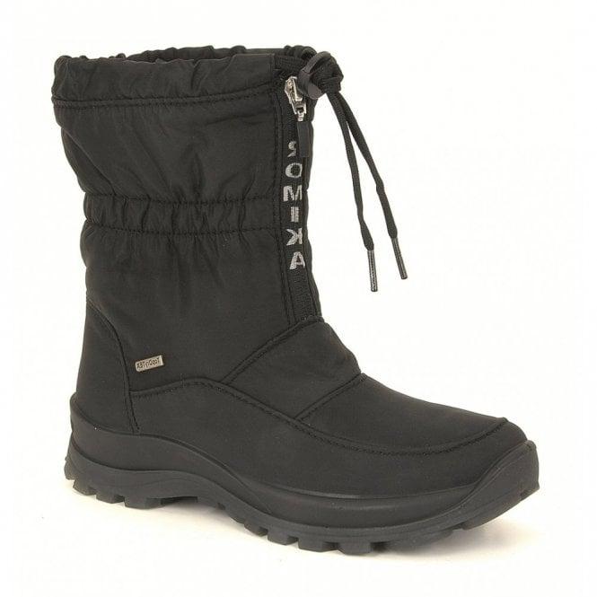 Romika Alaska 118 Black Waterproof Boot