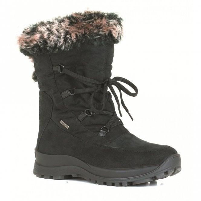 Alaska 02 Black Waterproof Boot