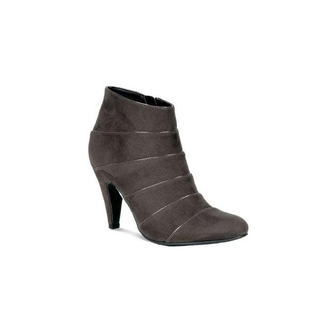Lunar GLV551 Grey Ladies Ankle Boot
