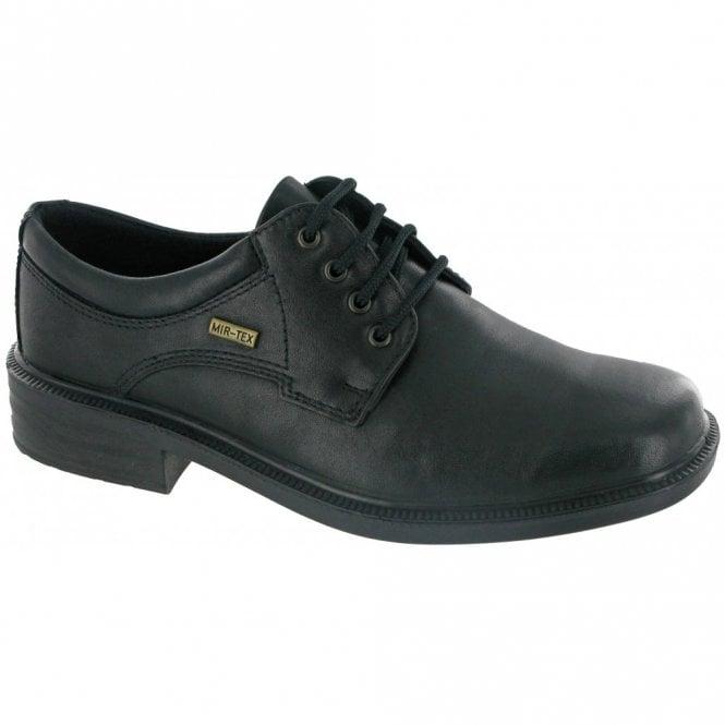 Cotswold Sudeley Black Leather Waterproof Lace Shoe