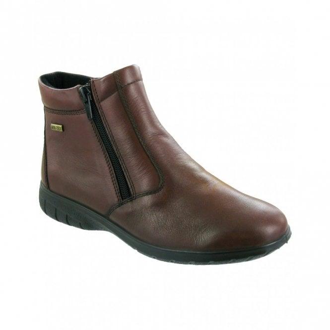 Cotswold Deerhurst Brown Leather Ladies Waterproof Ankle Boot