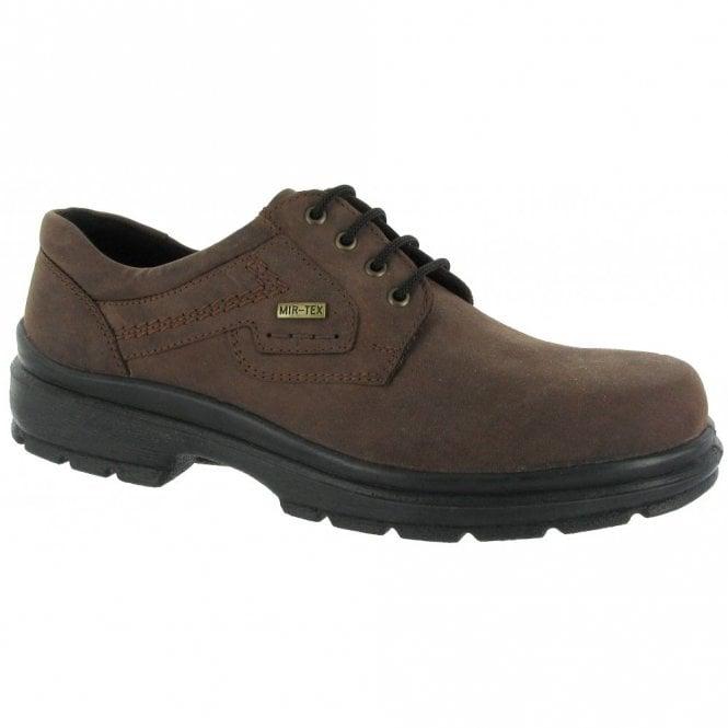 Cotswold Shipston Brown Nubuck Waterproof Lace Shoe