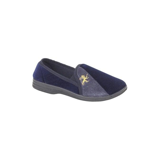Zedzzz Aaron Navy / Grey Full Slipper