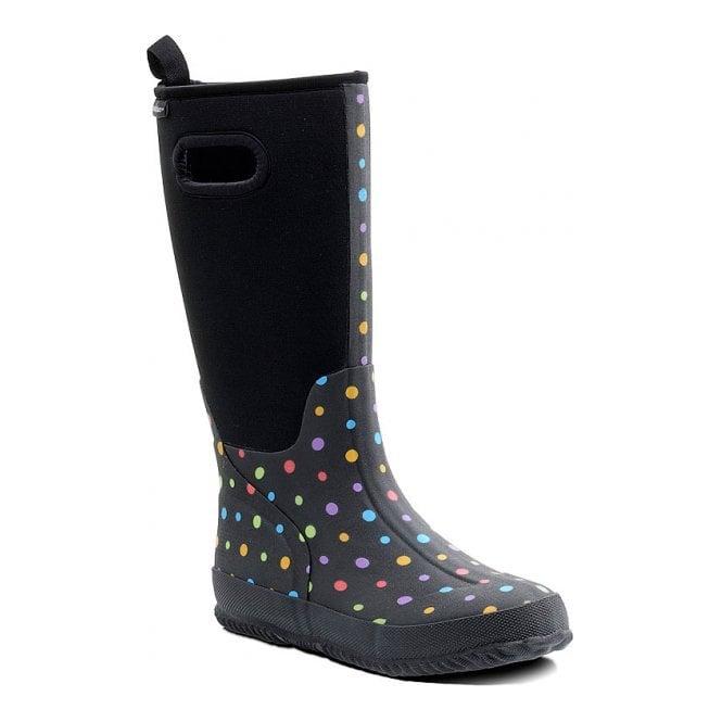 Padders Pixie Black Wellie Boot