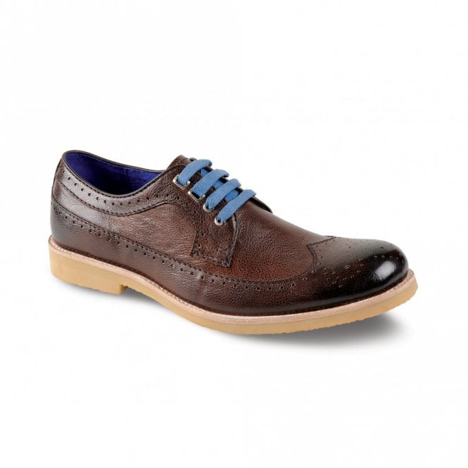 Goodyear Falcon Brown Leather Lace Shoe