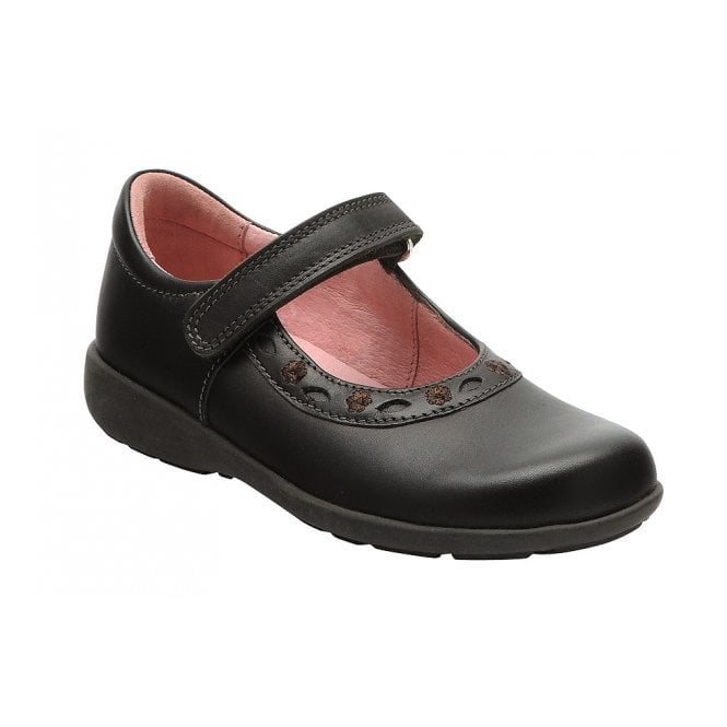 Start-rite Scissors Brown Leather Girl's Shoe