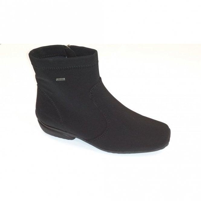 Ara 40911-01 Black Waterproof Boot