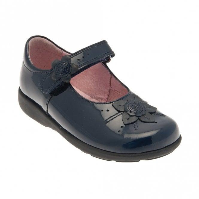 Start-rite Violet Navy Patent Girl's Shoe