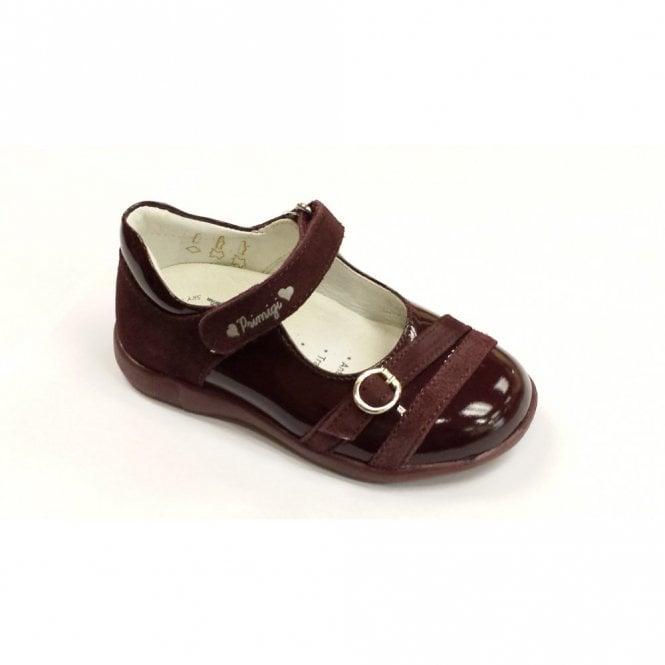 Primigi Chloe Burgundy Patent Girl's Shoe