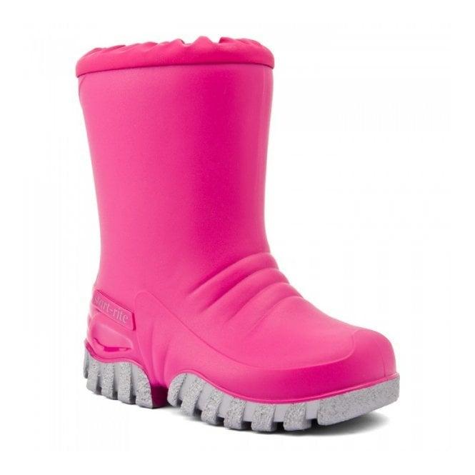 Start-rite Baby Mud Buster Pink Wellington Boot