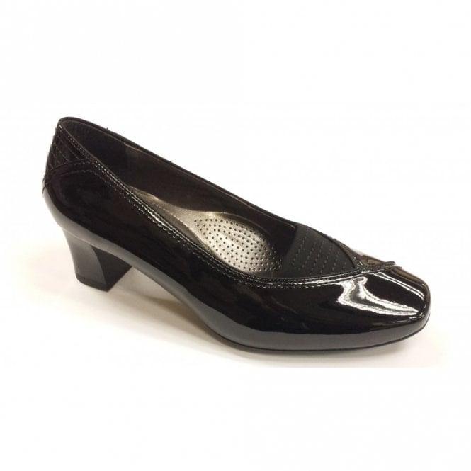 Ara 41716-01 Black Patent Shoe
