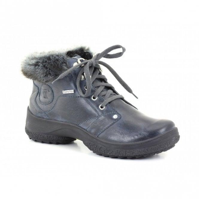Romika Spike L115 Ocean Blue Leather Waterproof Anti Slip Boot