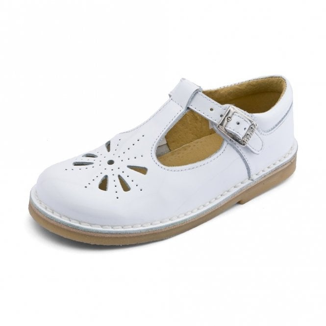 Start-rite Tea Party Girl's White Patent Sandal