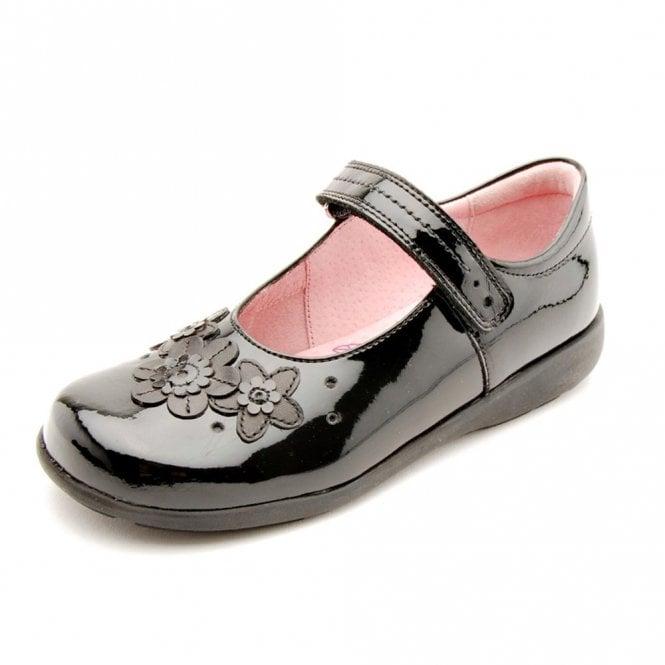 Start-rite Fleur Black Patent Girl's Shoe