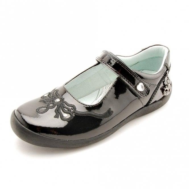 Start-rite Princess Serena Black Patent Girl's Shoe
