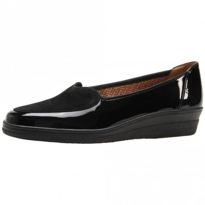 Gabor Blanche 56.404.97 Black Patent Pump Shoe