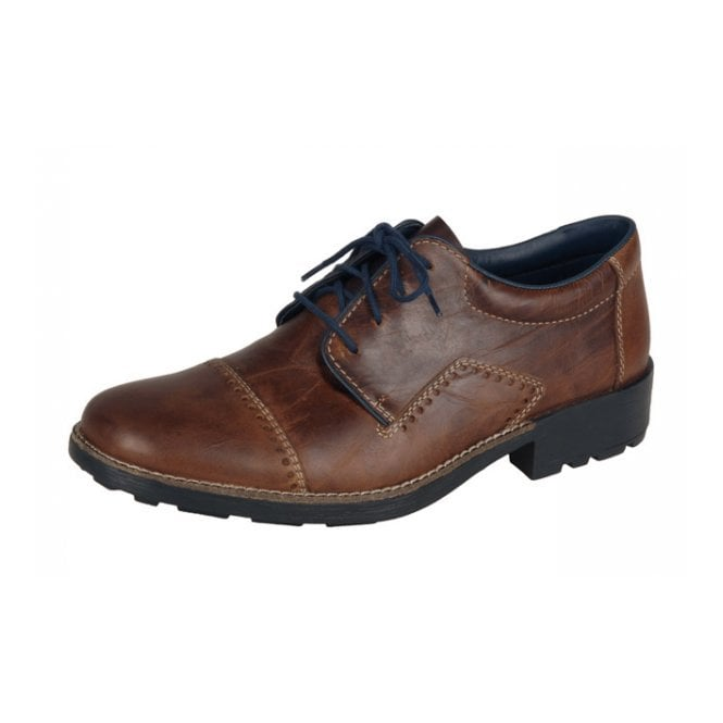 Rieker 16002-26 Brown Leather Shoe