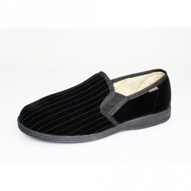 Goodyear Calder Black Two Tone Full Slipper
