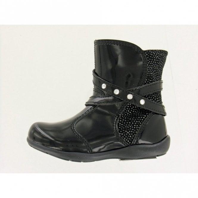 Primigi Daffy Black Patent Girl's Boots