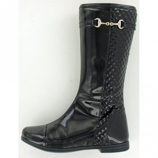 Primigi Tyra Black Patent Girl's Boots