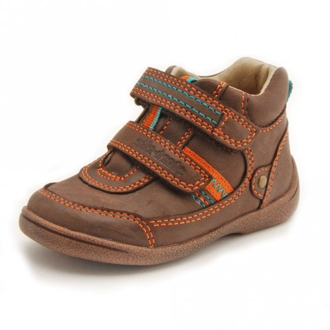 Start-rite Super Soft Max Brown Leather Boys Boot