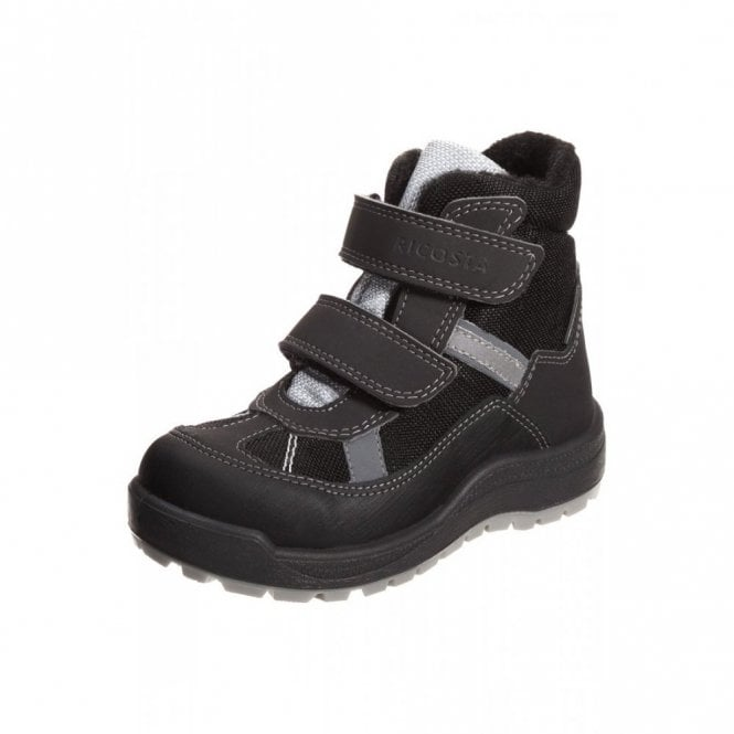 Ricosta Gabris 57305-091 Black Waterproof Boys Boots
