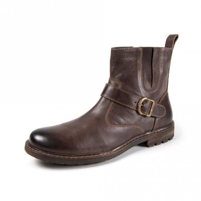 Moshulu Kensington Oval 2 Brown Leather Boot