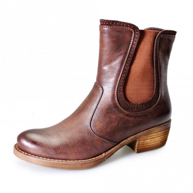 Lunar GLC421 Brown Ladies Chelsea Boot