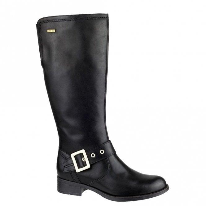 Cotswold Ullenwood Black Leather Ladies Waterproof Boot