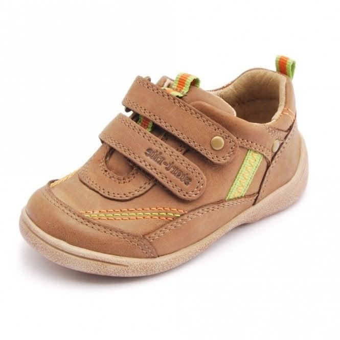 Start-rite SR Super Soft Leo Light Brown Leather Boys Shoe