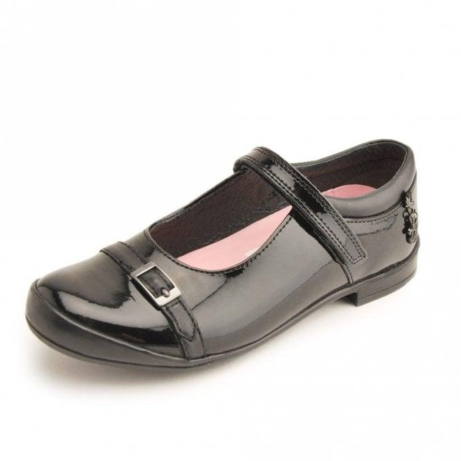 Start-rite Purrfect Black Patent Girl's Shoe