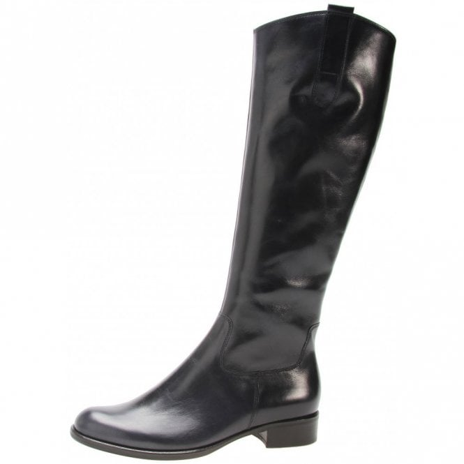 Brook M 31.639.36 Navy Leather Boot