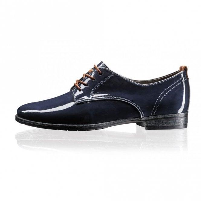 Jenny 65622-06 Navy Patent Lace Up Shoe
