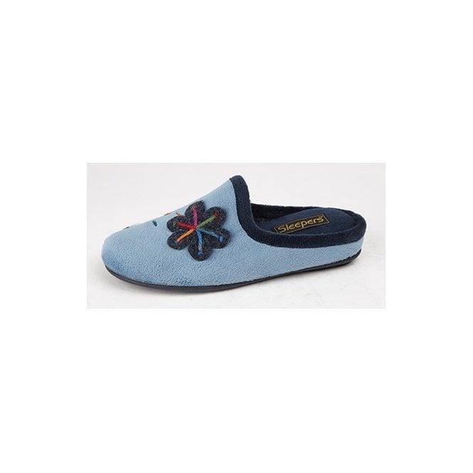 Sleepers Theronda LS337 Patterned Mule Slipper