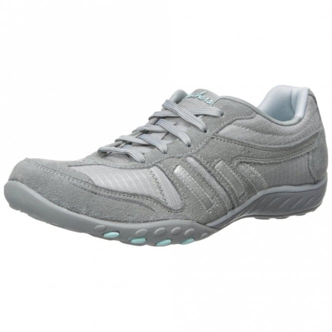 Skechers Relaxed Fit: Breathe Easy - Jackpot Grey Suede