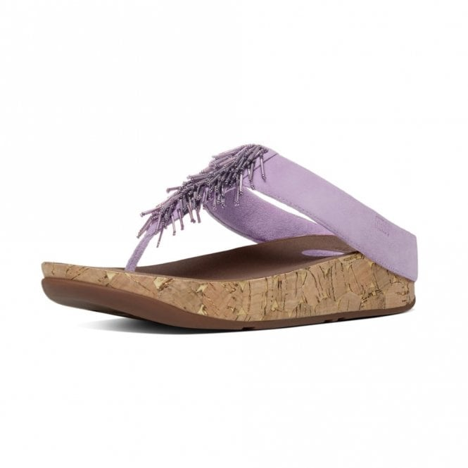 FitFlop Cha Cha Dusty Lilac Sandal