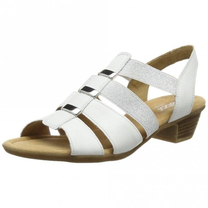 Gabor Joan 82.472.50 White Leather Sandal