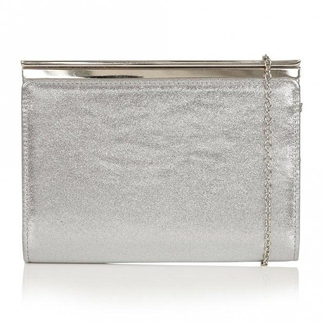 Lotus Hallmark Ida Silver Shimmer Clutch Bag