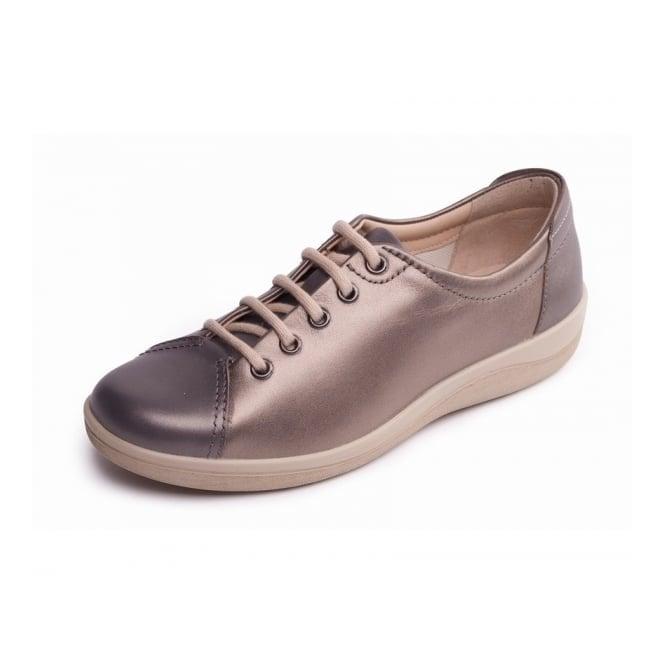 Padders Galaxy 2 Metallic Combi Leather Lace Up Shoe