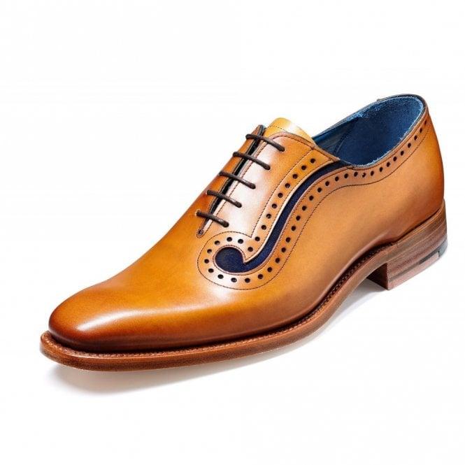 Barker Lucas Cedar Leather Lace up Shoe