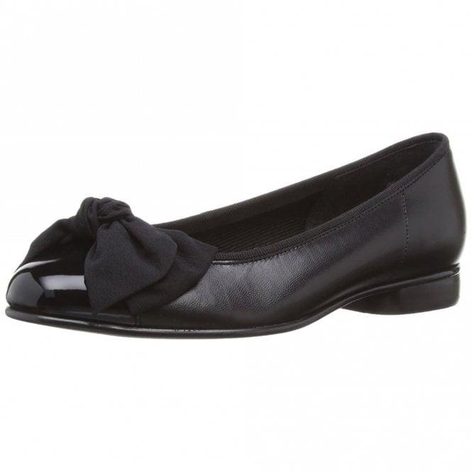 Gabor Amy 05.106.37 Black Patent / Leather Pump Shoe