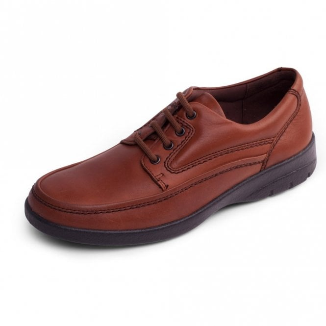 Padders Fire Tan Leather Lace Shoe