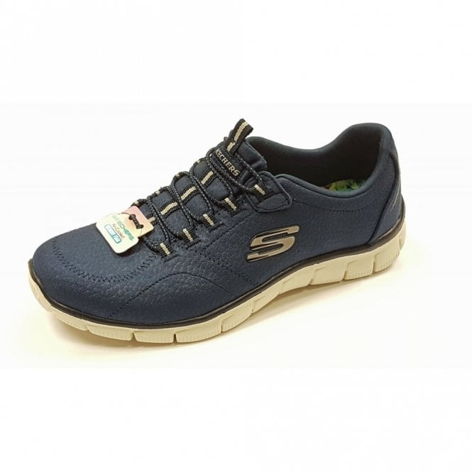 Skechers Relaxed Fit: Empire - Take Charge Navy Fabric