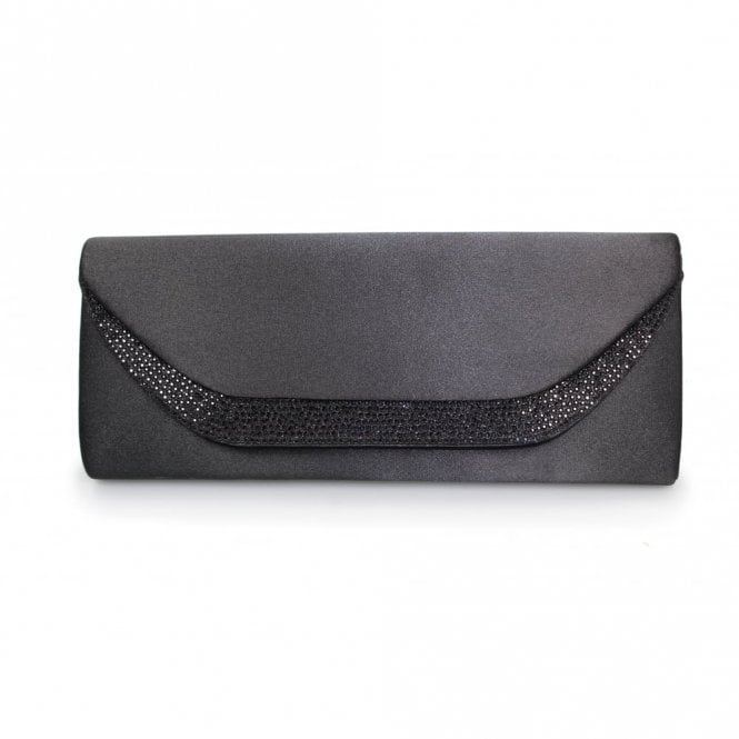 Lunar Honor ZLR365 Black Glitzy Handbag