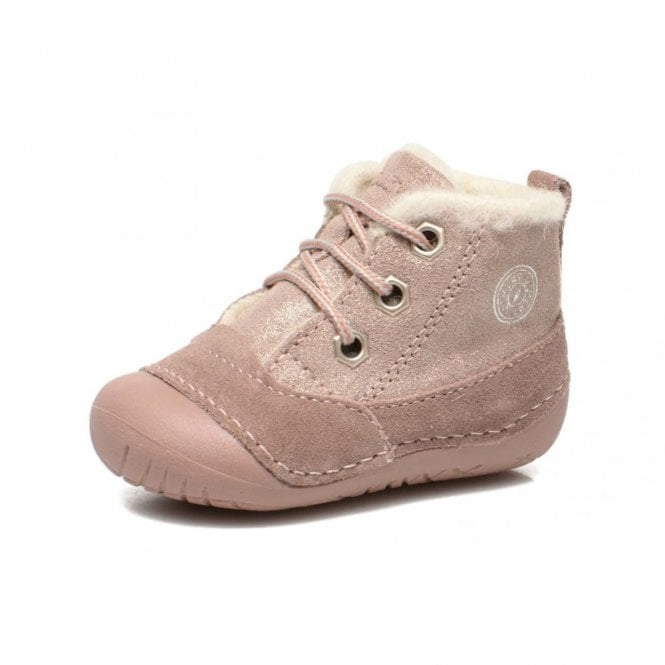 Primigi Raffy x-E Pink Suede Girl's First Boot