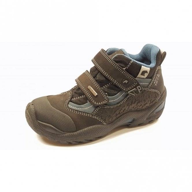 Primigi Bellok Black Nubuck Leather Waterproof Boys Boots