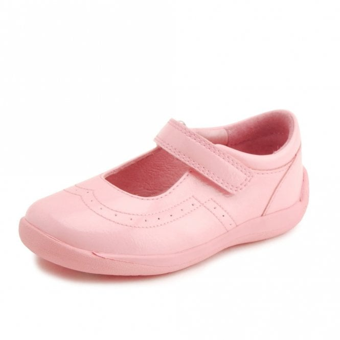 Start-rite SR Supersoft Alice Pale Pink Patent Girl's Shoe